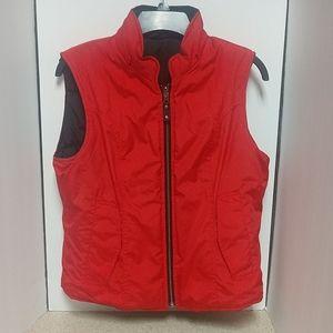 Harley Davidson Lightweight Quilted Vest Red